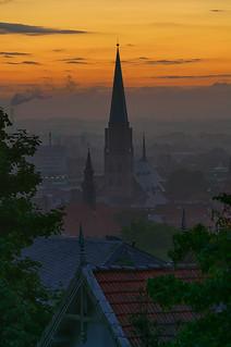 Sunrise over Bielefeld