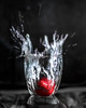 touch down (gks18) Tags: water strawberry 85mm canon lightroom nik gravity splash