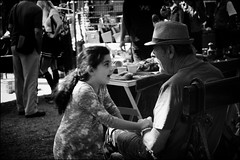 YOU'RE FUNNY! Smile on Saturday (Ageeth van Geest) Tags: antiquemarket granddougther grandfather denhaag thehague market crazycouples smileonsaturday