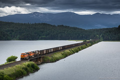 BNSF in Hope, ID (Brandon Townley) Tags: trains railroad hope idaho mrl bnsf