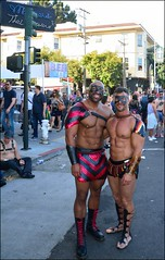 Friends Who Made Your Day! (Little Italy Photography) Tags: sanfrancisco ca folsomstreetfair folsomstreet leather men tats hairy muscle nikon nikond7100 tattoos smokinghot stud mansman face hunk nikon18105mmf3556afsdxvrednikkorlens hccity photography capitalcities city travel destinations tourism colorimage artistic building historical history citylife uniforms policemen officers solider guns hats boots beards handsome beautiful man'sman