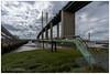 Dartford Crossing (Viramati) Tags: dartford crossing thames riverthames converginglines urban