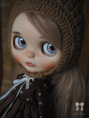 1/6 Scale Doll Outfit : Kozy Garden