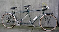 jack-taylor-tandem-classiccycleus.com (jimn) Tags: bicycle rack rackbuilding racks jacktaylor tandem touring brookssaddle mafac