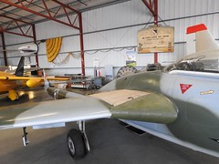 "De Havilland Vampire FB.6 6 • <a style=""font-size:0.8em;"" href=""http://www.flickr.com/photos/81723459@N04/36701247380/"" target=""_blank"">View on Flickr</a>"