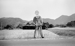 Scarecrow by mokuu - 熊本県葦北郡 Leica MP × Biogon 35mm F2 ZM / CS C9 24 142.03 / mokuu.cc/2017/07/post-278.html