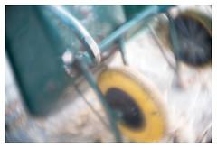 Wheels and barrow (leo.roos) Tags: wheel wheelbarrow wiel kruiwagen swirly hummellondonkinematographprojectionlens1½inches115 a7rii hummel3815 mfh projectorlens projectionlens darosa leoroos