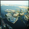 Yokohama from above (meeeeeeeeeel) Tags: ferriswheel rodagigante iphone squareformat hipstamatic iphoneography marine sea asia japão japan yokohama