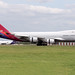 HL7419 Asiana Airlines B747-400/F London Stansted Airport