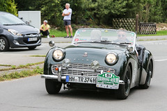 1959 Triumph TR3A (Hamburg PORTography) Tags: rallye hamburg berlin klassik classic vintage car oldtimer auto vehicle rausdorf 2017 hoonose68 germany deutschland canoneos6d canon eos 6d sgrossien grossien 1959 triumph tr3a againstautotagging