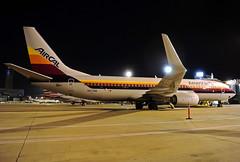 N917NN American 737-823W at KCLE (GeorgeM757) Tags: n917nn american aircalheritage retro 737823w aircraft alltypesoftransport airplane aviation airbus boeing nightairplane kcle clevelandhopkins georgem757
