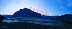 Dusk at Mighty Indus (Tauseef Zafar (Digital Fly)) Tags: duskatmightyindus indusriver mightyindus indus skardu gilgitbaltistan pakistan indusvalley nature beautifulnature landscape dusk lightatdusk bluesky bluetones beautifulpakistan canoneos7dmarkii tauseefzafar