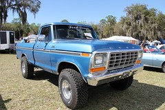 1979 Ford F150 Ranger 4x4 Pickup Truck (Gerald (Wayne) Prout) Tags: 1979fordf150ranger4x4pickuptruck 1979 ford f150 ranger 4x4 pickup truck 2017winterfloridaautofestlakeland lakelandlinderregionalairport cityoflakeland polkcounty florida usa centralflorida prout geraldwayneprout canon canoneos60d eos 60d photographed photography 2017 winter autofest lakeland linder regional airport polk carshow car vehicle antique historical offroad classic vintage