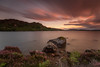 A Sunset LE .. (Gordie Broon.) Tags: lochduntelchaig sunset le hills rocks scotland schottland scottishhighlands invernessshire scenery evening heather ferns hugeln landscape ecosse scenic dunlichity essich strathnairn escocia szkocja bunachton scozia calm caledonia alba paisaje paysage collines summer 2017 august gordiebroonphotography windy sky movement clouds canon5dmklll canon1635f4l colinas lago lac reservoir geotagged longexposure