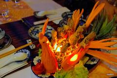 Vietnam-Hue:At the Y Thao Garden restaurant I. (roxykon) Tags: vietnam indochina seasia hue food pentaxk5 tamron18250mm
