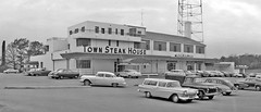 Town Steak House - circa. 1950s (Brett Streutker) Tags: restaurant cafe diner eatery food hamburger cheeseburger eat fast macdonalds burger vintage colonel sanders kentucky fried chicken big mac boy french fries pizza ice cream server tip money cash out dining cafeteria court table coffee tea serving steak shake malt pork fresh served desert pie cake spoon fork plate cup drive through car stand hot dog mustard ketchup mayo bun bread counter soda jerk owner dine carry deliver