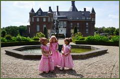 Kindergartenkinder auf Schloss Anholt ... (Kindergartenkinder) Tags: schlossanholt annemoni milina dolls himstedt annette park kindergartenkinder sommer wasserburg margie isselburg