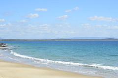 Noosa Beach (chloesutton-stacey) Tags: australia eastcoast travel traveller backpacker adventure beautiful amazing wow eastcoastoz backpacking travels beach beachscape sea seaside noosa