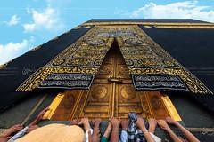The Holy Kaaba - ٱلْكَعْبَة (Sadoons Photography) Tags: kaaba holy makkah mecca gate golden kiswa landmark islam hejaz calligraphy prayer dua ibrahim allah house center pray muhammad prophet deen tawaf