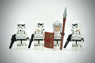LEGO Stormtrooper Roman Soldier
