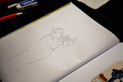 Serge Dehaes (saigneurdeguerre) Tags: canon eos 5d mark iii 3 europe europa belgique belgië belgium belgien belgica bruxelles brussel brussels brüssel bruxelas ponte antonioponte aponte ponteantonio saigneurdeguerre fetedelabd 3septembre2017 dessinateur illustrateur bd