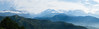 Morning light on the Annapurna range (ericcb) Tags: green mountains annapurna annapurnas himalayas himalaya himal lamjunghimal annapurnacircuit annapurnaii fujifilmxt1 fujifilm fuji worldpeacepagoda sunrise light morning snow