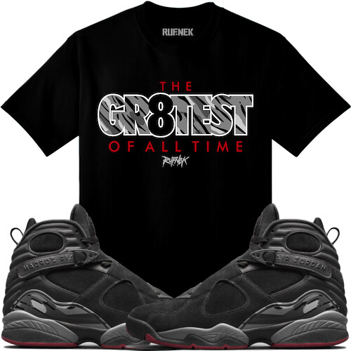 78febd7e995022 Jordan 8 Cement Sneaker Tees Shirts (XGEAR101) Tags  jordan 8 8s air sneaker