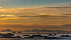 Midnight-Sun at Diskobay (Greenland) (Role Bigler) Tags: canoneos5dsr ef4070200isusml ilulissat midnightsun mitternachtssonne natur nature diskobay diskoisland eisberg greenland grönland iceberg nordatlantik northatlantic