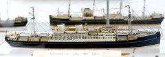 A 1:500 scale model of the M/S Amerika at Springeren Maritimt oplevelsescenter, 16. september 2017. Foto: Per Ryolf (perryolf) Tags: fotoperryolf aalborg springerenmaritimtoplevelsescenter ubåd mtb torpedobåd ship ships schiff schiffe skibe skib marinemuseum