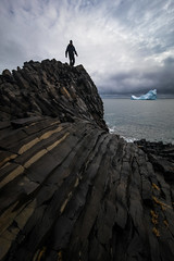 Disko Fever (davebrosha) Tags: davebroshaphotography qeqertarsuaq arctic autumn disko greenland island landscape nature basalt epix epic selfportrait
