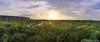 Sunset Over the forest (Rutger.Zegveld) Tags: sunset bracket forest tripod tree nature sun golden hour blue sky clouds sunlight