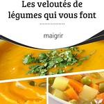 Meilleurs conseils pour perdre du poids  : Les # veloutés de légumes qui vous font maigrir Existe-t-il un #plat sain, co ... thumbnail