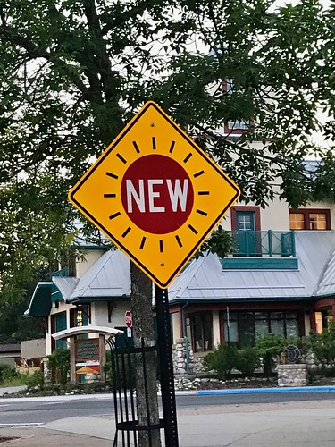 """New"" sign, what it's all about?"