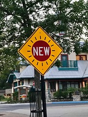 """""""New"""" sign, what it's all about?"""