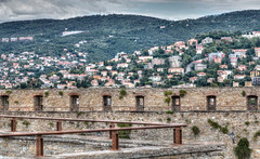 Trieste from Castello di San Giusto (CdL Creative) Tags: 70d canon castellodisangiusto cdlcreative eos hdr italia italy saintjustus trieste castle geo:lat=456470 geo:lon=137736 geotagged friuliveneziagiulia it
