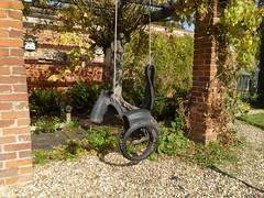 Swing horse (JuliaC2006) Tags: owletts kent 52in201725seat horse tyre garden