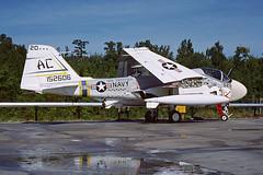 KA-6D Intruder 152606 of VA-75 AC-520 (JimLeslie33) Tags: grumman navy usn naval aviation intruder 152606 va va75 sunday punchers uss saratoga cvw3 cv60 nas oceana tanker ac ac520 attack bomber olympus om1