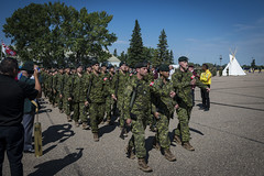 BE 17 Graduation Parade (Lieutenant Governor of Alberta) Tags: 3cdsb 3cdtc army boldeagle2017 females femmes graduationparade indigenous males military wainwright ab canada ca