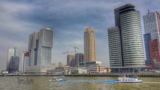 Nieuwe Maas, Wilhelminapier, Rotterdam, Netherlands - 5273