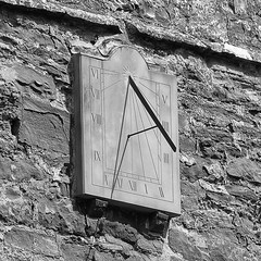 27vii2017 Stokesay 28 (garethedwards36) Tags: church chapel stone time sundial architecture building stokesay shropshire uk lumix monochrome blackandwhite