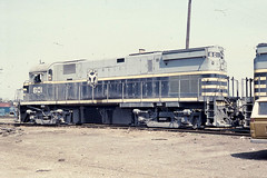 The Belt Railway Co. C424 #601 at Proviso on 4-11-76 (LE_Irvin) Tags: c424 chicago ihb proviso