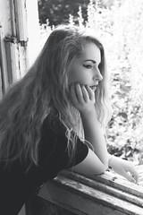 Abandoned House Shoot (holger_haase) Tags: blackandwhite glamour abandonedplaces midleton hair blonde