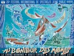 Affiche Festival Au Bonheur des Mômes - 2017