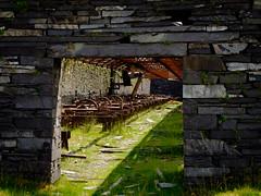 Australia Mill, Dinorwic (Rogpow) Tags: dinorwic dinorwicquarry slatequarry wales quarry slate dinorwig llanberis snowdonia northwales fujifilm fuji fujixt1 abandoned derelict decay ruin industrialarchaeology industrialhistory industrial mill australialevel machinery old
