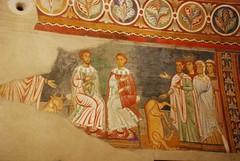 Silvestro risuscita il toro ucciso dal sacerdote ebreo - Oratorio di San Silvestro - Roma