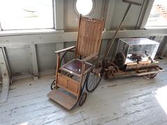 Wheelchair (wonder_al) Tags: marinemuseumofmanitoba manitoba selkirk museum marine wheelchair