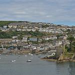 UK - Cornwall - Fowey - view of Polruan thumbnail