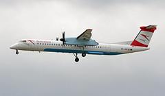 OE-LGC EDDF 17-06-2017 (Burmarrad (Mark) Camenzuli) Tags: airline austrian airlines aircraft bombardier dash 8q402 registration oelgc cn 4026 eddf 17062017