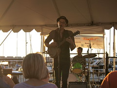 Nick Drummond and Friends (Anne Abscission) Tags: nickdrummond livemusic everett washington waterfront marina banjo musicatthemarina summerevenings summer olympuspenep1 ep1 mzuiko 40150mm micro43 m43 mirrorless