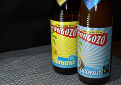 Mongozo Coconut and Bannana beers (Tony Worrall) Tags: ©2017tonyworrall images photos photograff things uk england food foodie grub eat eaten taste tasty cook cooked iatethis foodporn foodpictures picturesoffood dish dishes menu plate plated made ingrediants nice flavour foodophile x yummy make tasted meal nutritional freshtaste foodstuff cuisine nourishment nutriments provisions ration refreshment store sustenance fare foodstuffs meals snacks bites chow cookery diet eatable fodder glass bottles goods buy label sell bought mongozo banana coconut ale beer